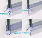 BATH SHOWER SCREEN RUBBER PLASTIC SEAL For 6-8mm GLASS DOOR ENCLOSURE