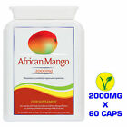 AFRICAN MANGO 2000mg- 100% Weight Loss Extreme Fat Burn Slimming Diet 60 Tablets