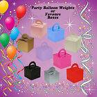 Pack of 10 BALLOON WEIGHT BOXES - Pink, Black, Silver, Gold, Lilac, ivory etc