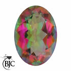 LOOSE GREAT COLOUR NATURAL MYSTIC TOPAZ STONES OVAL CUT FLAWLESS COLOURS
