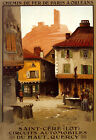 Saint Cere City France French Tourism Travel Trip Vintage Poster Repo FREE SH