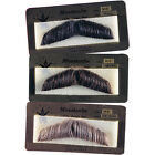 Внешний вид - HUMAN HAIR GENT GENTLEMAN MOUSTACHE COSTUME MUSTACHE BLACK BROWN GREY 2011