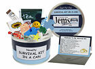 HUSBAND TO BE SURVIVAL KIT IN A CAN. Novelty Wedding Day/Fiance Groom Gift Card