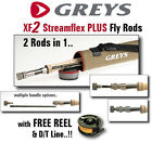 Greys of Alnwick XF2 STREAMFLEX PLUS Fly Rods for Fly Fishing : Trout Fishing