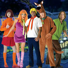 Adult TV Show Scooby-Doo Mystery Inc Gang Crime Shaggy Fred Velma Daphne Costume