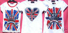 BN.GIRLS****UNION JACK****CROWN PRINCESS****T-SHIRTS  (assorted sizes)