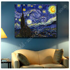 Huge! Van Gogh The Starry Night ALL SIZES CANVAS Print Poster GICLEE Art DECOR