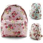 Unihood NWT Brand Womens Cute Flower Pattern Backpack Girls School Backpacks