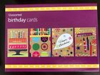 Boxed Greeting Cards-Birthday  Get Well  Sympathy  Friendship  Blank-Your Choice