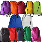 Gym Swim School Dance Shoe Boot PE Drawstring Bag ideal for sports and swimming