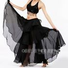 Belly Dance Costume Chiffon Layer Skirt 9Colours Avail.