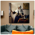 Huge! Vermeer Woman Water Pitcher ALL SIZES CANVAS Print Poster GICLEE Art DECOR