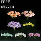 24pc Mini Calla Lily Flower Wedding Favor Decor Scrapbooking free shipping