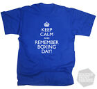 Funny Keep Calm & Remember Boxing Day Sheffield Wednesday football SWFC T-Shirt