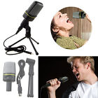 US Professional Podcast Studio Microphone w Stand Skype Webcast Youtube Video