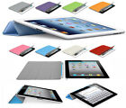 Magnetic Smart Cover Case Stand with Sleep Wake for Apple New iPad 3,iPad 2