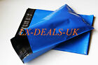 BLUE Postage Mailing Bags 10 20 50 100 200 500 12x16 strong Metalic Large shoes