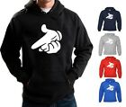 DRAKE HOODIE MICKEY MOUSE GUN HANDS HOODED SWEATSHIRT YMCMB DOPE FRESH SWAG