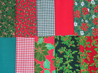Fabric Remnant Bundles Halloween~Christmas Cotton £4.20 free post Craft~Hobby