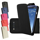 Samsung Galaxy S3 I9300 Flip PU Leather Case in Red Blue Black Pink or White
