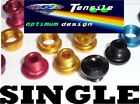 Onza Alloy Chainring Bolts,Single,Set 5. Gold, Red, Black, Blue Top quality NEW