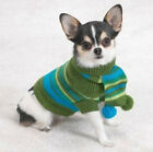 Casual Canine Chilly Day Dog Sweater w/ Pom Pom Scarf  CLEARANCE! LIMITED SIZES!