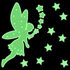 GLOW IN THE DARK SPARKLE FAIRY STICKERS stars wall ceiling sparkly bedroom