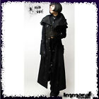 Punk Rave Gothic Priest Trench Coat - Punk / Gothic / Black / Jacket - Unisex