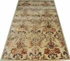 Indian Hand Tufted Modern Designer Wool & Silk Area Carpet Rug Alfombras Teppich