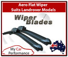 Aero Flat Wiper Blades - Landrover Vehicles 2x Front Wipers