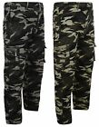 BOYS ARMY CAMOUFLAGE COMBAT TROUSERS 1-12years #A12 BNWT