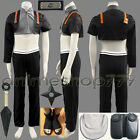 Naruto Shippuuden Sai Cosplay Party Custom Whole Set Tailored Free Shipping