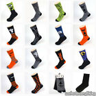 New HUE HALLOWEEN Womens Crew PATTERN Cotton Socks Black Orange Green Gray 1p