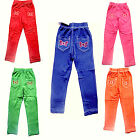 Girls butterfly glitters elasticated waist stretch jeggings trouser pants 2-6yrs