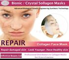 Amazing Bionic Collagen Mask Silk Anti Ageing Wrinkle Fine Lines Whitening Skin