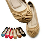 ollio Womens Ballet Flats Loafers Bowed Comfort Cute Multi Colored Shoes