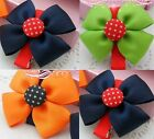 Colorful Bow Dots Hair Clips Hair Pins Hair Accessories For Kids Girls Babies