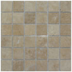 30.5x30.5 NM-501 Light Travertine Mosaic 4.8 (5 Sheets Or More)