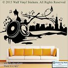 Wall Stickers Urban City Music Skater dance Vinyl Decal  Quote Graffiti Banksy