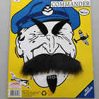 Wing Commander Moustaches/Mustache+ Eyebrow Self-Adhesive Party Fancy Custome188