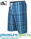O'Neill Epic Plaid Boardshorts Men's Board Shorts QUICK DRY SUPER STRECH - Blue