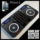 Cover for iPhone 5/5G  Twin CD DJ Decks Controller Mixer Digital Dual Case +9027