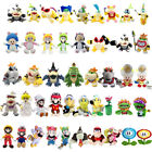 Super Mario Bros Plush Toy TV Character Soft Stuffed Animal Collectible Doll