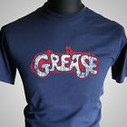 Grease Retro Movie T Shirt Vintage Cool Hipster Tee