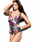 Panache Tallulah SW0740 Charcoal Underwired Swimsuit