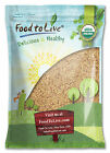 Food To Live ® Certified Organic ALFALFA SEEDS (0.5 to 25 lbs) - Sprouting