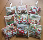 Handmade Shabby Chic Country Kitchen Lavender Filled Sachets Smells Fabulous