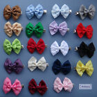 Double Satin Bow Hair clip for Girls or Baby - different colours to choose from