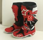 Alpinestars Offroad Tech 10 Boots-Size 9- RED - NEW 2013 Model