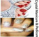 1pc Genuine Crystal Pedicure & Manicure Kit - Choice of your Swarovski Crystals